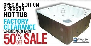 Special Edition 5 Person Hot Tub