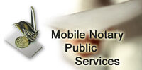 Mobile Notary, TAX preparation and more.