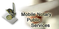 Mobile Notary Public – Available Evenings and Weekends - $19+