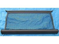 retractable luggage safety net / dog guard net, for Volvo V50. Genuine part with fixing brackets