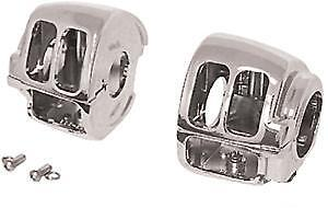 Chrome Switch Housings Harley Sportster Xl Xlh 883 1200 1200c Iron 48 2007-2011