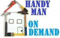 Home a tout faire. 25$/hour - Handyman 25$/hr