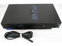 PS2 Console. (Fat Version). Plus Controller + 9 Games....