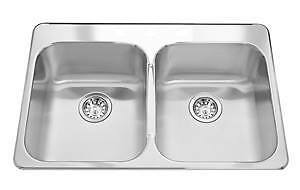 Kindred stainless steel sink BNIB