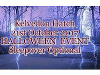 Halloween Special Kelvedon Hatch Nuclear Bunker Sleepover optional