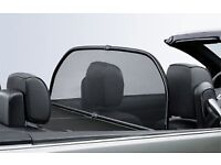 BMW 3 series convertible wind deflector