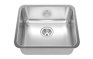 Kindred Stainless steel undermount single sink