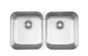 Kindred Stainless steel undermount sink