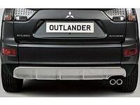 Mitsubishi Outlander 2007-2012 Rear Bumper Cover