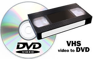Service for converting VHS-C camcorder videotapes to DVD