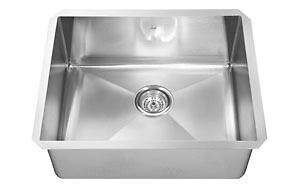 DEEP STAINLESS STEEL UNDER MOUNT LAUNDRY SINK 35% SALE