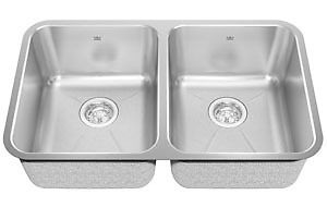 KINDRED - Stainless Steal Under-mount Double Bowl Sink
