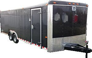 20 Foot Enclosed Car Hauler For RENT