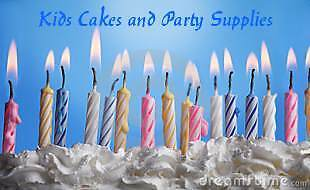 Kids Cakes and Party Supplies