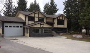 Great home for rent in Golden, BC