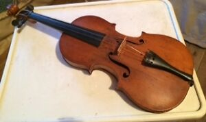200 year old handmade violin