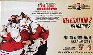 IIHF World Junior Championships. Relegation 2. Jan 4. 1 pair