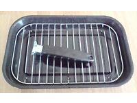 For sale 38cm enamel grill pan