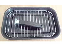 For sale 38cm enamel grill pan