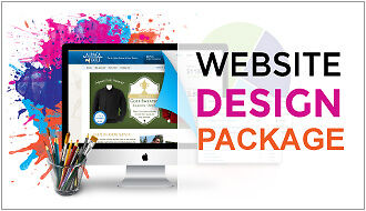 Professional Custom Web Design Package - FREE hosting & Domain Included