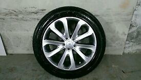 ALLOYS X 4 OF 20 INCH GENUINE RANGEROVER VOGUE FULLY POWDERCOATED IN A STUNNING SHADOW/CHROME NICE