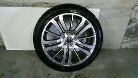 ALLOYS X 4 OF 20 INCH GENUINE RANGEROVER SPORT HSE OR DISCOVERY FULLY POWDERCOATED IN SHADOW/CHROME