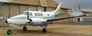 Beechcraft Queenair Aeroplane