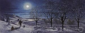 A Frosty Night Limited Edition Print By James Lumbers only one