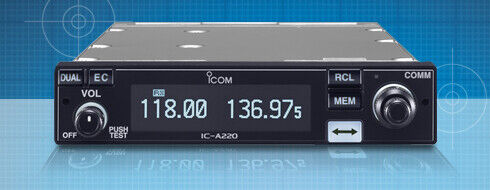 Icom IC-A220 (New) *NON* TSO'd Panel Mount Com ***$100 Mail-In Rebate***