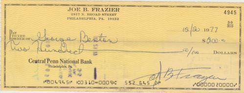 c3d08fd07c7 Joe Frazier Autograph