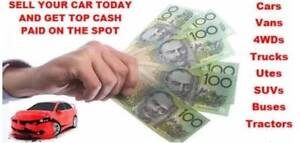 WE BUY ALL UNWANTED CARS VANS TUES CALL US  Tregear Blacktown Area Preview