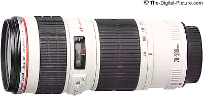 Canon camera DSLR lens,  EF  70- 200 mm f/4L IS USM