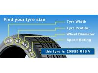 Quality New & Part worn tyres, Great treads, Most makes & sizes, Low prices !! Read for more info...