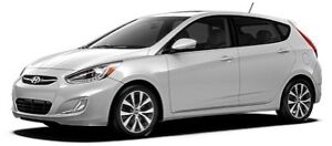 2017 Silver Hyundai Accent 5DR SE !! LOW KM