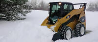 Skid Steer Snow Removal Service.