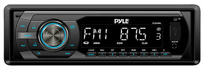 New Pyle PLR44MU In Dash MP3 USB SD AUX Car Receiver Stereo AM FM Radio & Remote