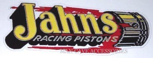 Nostalgic JAHNS Racing Pistons Vinyl Decal Sticker 4391