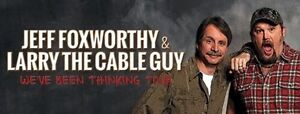Larry the Cable Guy tickets - Section 100!