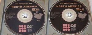 Lexus Navigation DVD Update Discs