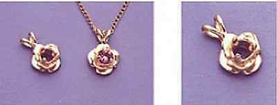 14kt White Or Yellow Gold 2, 3 Or 4mm Round Accented Rose...
