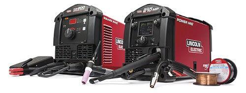 Lincoln Power MIG 210 MP (K3963-1) & Square Wave TIG 200 (K5126-1) Garage Pak!