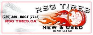 R.S.G. Tires New and Used Tires @ Wholesale Prices