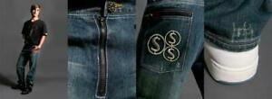 LIQUIDATION 75% OFF Mens DESIGNER Jeans - Zipper Fly 3D Emb #3A
