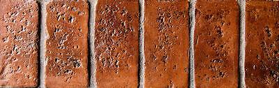 Worn Brick Border concrete stamp set 4 pc