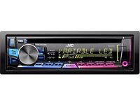 JVC car stereo CD/USB/iPod/ANDROID
