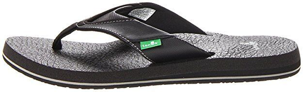 NEW! Sanuk Men's Yoga Mat Beer Cozy Flip-Flop Sandals Slippe