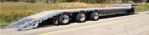 2020 Doepker Tri-Axle Drop Deck with Beaver Tail