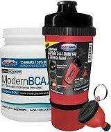 USP Labs Modern BCAA Fruit Punch  30 SERVS +  USPLabs 3-in-1 Shaker