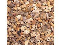 golden gravel chippings 20kg bags