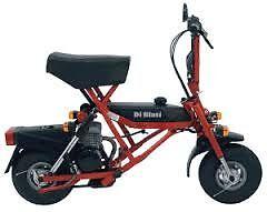 2009 DiBlasi Italian Made foldup/ lightweight/registerable scoot. Manunda Cairns City Preview